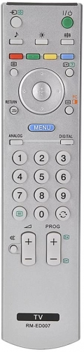 SONY RM-ED007 TV replacement remote control